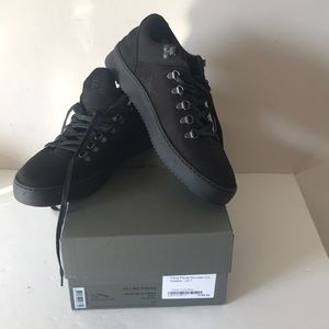 Filling Pieces Mountain Cut Black sneakers FP 41